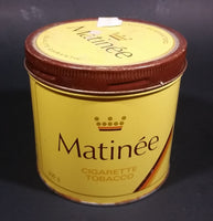 Vintage Early 1970s Matinee Cigarette Tobacco Tin Imperial Tobacco Bilingual Quality - Treasure Valley Antiques & Collectibles