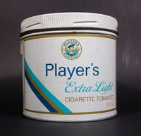 Vintage Late 1970s Player's Extra Light Cigarette Tobacco Tin (Was used as coin bank) - Treasure Valley Antiques & Collectibles