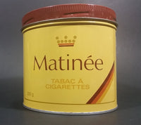 Vintage 1970s Matinee Cigarette Tobacco Tin Imperial Tobacco Bilingual Quality Guaranteed Version Great Condition - Treasure Valley Antiques & Collectibles