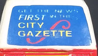 "1982 Hot Wheels Mattel Rapid Transit ""Get The News First In The City Gazette"" City Bus Toy - Treasure Valley Antiques & Collectibles"