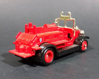 1983 Lledo Diecast Model of 1934 LCC London Fire Brigade #52 Engine Truck - Treasure Valley Antiques & Collectibles