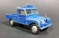 "1959-1961 Corgi Toys Land Rover 109 W.B. Blue Toy Truck - No. 416 ""Radio Rescue"" - Treasure Valley Antiques & Collectibles"