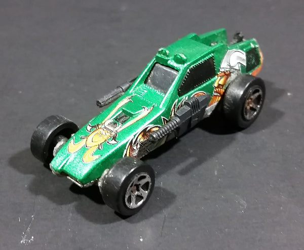 2004 Hot Wheels Enforcer Green Viking Assault Vehicle Die Cast Toy Car - Treasure Valley Antiques & Collectibles