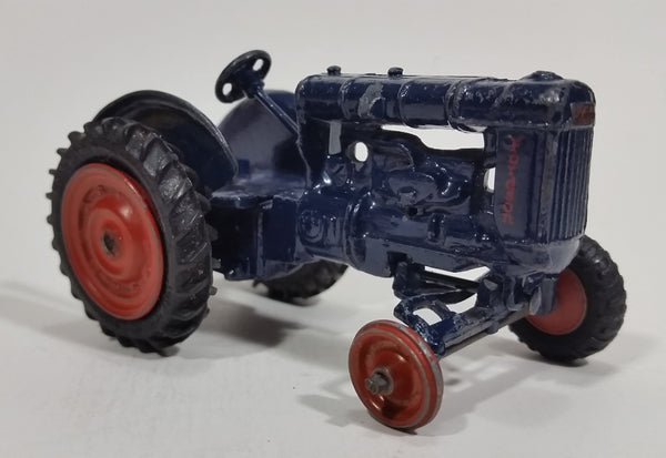 1960s Britains Ltd. Blue Diecast Fordson Farming Tractor Model Toy - Treasure Valley Antiques & Collectibles