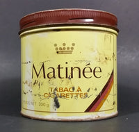 Vintage Early 1970s Matinee Cigarette Tobacco Tin Imperial Tobacco Bilingual - Treasure Valley Antiques & Collectibles