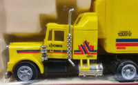 Early 1990s Herpa Promotex Loomis Courier Service Mayne Nickless Transport 1:87 Scale Semi Truck - Treasure Valley Antiques & Collectibles