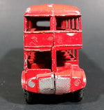 "1972 Lone Star ""See London By Bus"" Victoria No. 1259 Routemaster Diecast Double Decker Bus - Treasure Valley Antiques & Collectibles"
