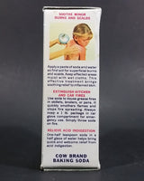 "1950s Cow Brand ""Lady Maud"" Sodium Bicarbonate U.S.P. 1/2 Lb Baking Soda Box - Never Opened - Treasure Valley Antiques & Collectibles"