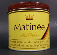 Vintage Early 1970s Matinee Cigarette Tobacco Tin Imperial Tobacco Bilingual Great Condition - Treasure Valley Antiques & Collectibles