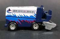 1999 Upper Deck Vancouver Canucks NHL Ice Hockey Zamboni Diecast Collectible Toy - Treasure Valley Antiques & Collectibles