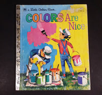 "Colors Are Nice - Little Golden Books - 311-41 - Collectible Children's Book - ""T Edition"" - Treasure Valley Antiques & Collectibles"