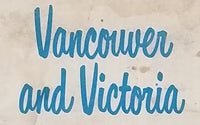 1966 Chevron Vancouver & Victoria Map - Celebrating British Columbia and Canada Centenaries 1966-1967