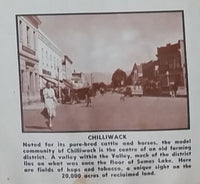 1950s 200 Miracle Miles Through The Lower Fraser Valley Tourism Pamphlet & Map - Travel Bureau of British Columbia - Treasure Valley Antiques & Collectibles