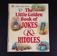 "The Little Golden Book of Jokes & Riddles - Little Golden Books - 211-45 - Collectible Children's Book - ""C Edition"" - Treasure Valley Antiques & Collectibles"