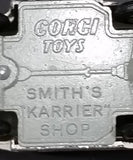 "Rare 1960-1962 Corgi Toys 413 Smith's ""Karrier"" Shop Mobile Butchers Shop Truck Diecast Toy - Treasure Valley Antiques & Collectibles"