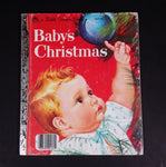 "Baby's Christmas - Little Golden Books - 460-08 - Collectible Children's Book - ""B Edition"" - Treasure Valley Antiques & Collectibles"