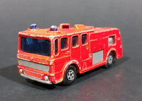 1969 Lesney Matchbox No. 35 Superfast Merryweather Fire Engine Diecast Toy Car - No Ladder - Treasure Valley Antiques & Collectibles