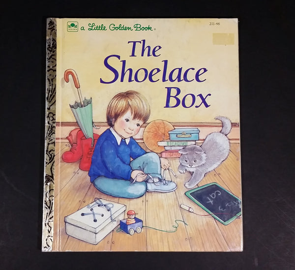 "The Shoelace Box - Little Golden Books - 211-46 - Collectible Children's Book - ""A Edition"" - Treasure Valley Antiques & Collectibles"
