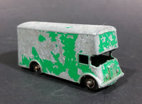 1960s Lesney Green Pickford Removal Van No. 46 - Missing Back Door - Paint Heavily Worn - Treasure Valley Antiques & Collectibles