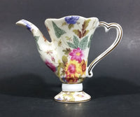 Vintage T. Limoges Miniature Floral Tea Pot (No Lid) - Treasure Valley Antiques & Collectibles