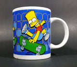 2006 Fox The Simpsons Skateboarding Bart Collectible Coffee Mug By Matt Groening - Treasure Valley Antiques & Collectibles