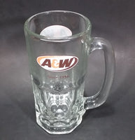 "Modern A & W Allen and Wright Since 1956 Clear 7"" Tall Root Beer Mug - Treasure Valley Antiques & Collectibles"
