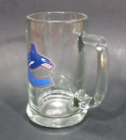 Collectible Vancouver Canucks Glass Beer Mug HockeyRules® Official NHL Product Y26023765 - Treasure Valley Antiques & Collectibles