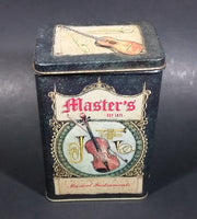 Vintage Charles Keller Master's Est 1873 Musical Instruments Biscuit/Coffee/Tea Decorative Tin - Treasure Valley Antiques & Collectibles