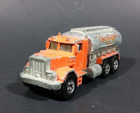 1981 Hot Wheels Peterbilt Tanker Truck California Construction Company Die Cast Toy Car - Treasure Valley Antiques & Collectibles