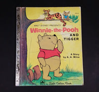 "Walt Disney's Winnie-the-Pooh And Tigger - Little Golden Books - 101-41 - Collectible Children's Book - ""A Edition"" - Treasure Valley Antiques & Collectibles"