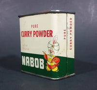 1950s Nabob Foods Vancouver Pure Curry Powder Spice Tin - Still has product inside - Treasure Valley Antiques & Collectibles