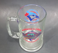 "1992 Toronto Blue Jays Canada's First World Series Champions Clear Glass 5 1/2"" Mug"