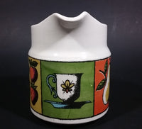 Vintage 1964 Holt-Howard Americana Fruit and Flowers Design Creamer - Treasure Valley Antiques & Collectibles