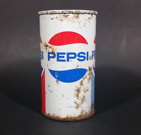 Vintage Early 1970s Pepsi-Cola Soda Pop Pull Tab Top 12oz Beverage Can - Seattle, Washington - Treasure Valley Antiques & Collectibles