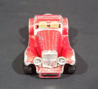 1982 Matchbox Toys Ltd Red British Two-Seater SS 100 Jaguar Diecast Toy car