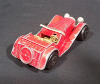 1982 Matchbox Toys Ltd Red British Two-Seater SS 100 Jaguar Diecast Toy car - Treasure Valley Antiques & Collectibles