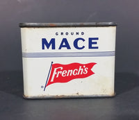 Vintage French's Ground Mace 1 oz Spice Tin - has product - Treasure Valley Antiques & Collectibles