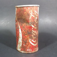 Rare 1970s Coca-Cola Coke Push Stars Soda Beverage Can - Rusted - Toronto, Ontario - Treasure Valley Antiques & Collectibles