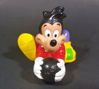"1992 Disney ""Goofy and Max's Adventure"" Movie Max Bowling Pullback Toy - Working"