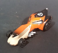 2001 Disney Hasbro Lion King Wild Racers Sinister Streetrod Orange Diecast Toy Car - Treasure Valley Antiques & Collectibles