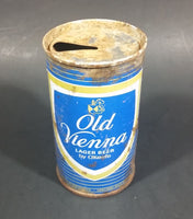 Vintage Rare Old Vienna Large Beer 12 Fluid Ounce Pull Top Beverage Can By O'Keefe - Rusted - Treasure Valley Antiques & Collectibles