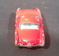 1980s Yatming Red 1957 Chevrolet Corvette w/ Opening Doors Diecast Toy Car No. 1079
