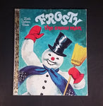 "Frosty The Snow Man - Little Golden Books - 451-41 - Collectible Children's Book - ""D Edition"" - Treasure Valley Antiques & Collectibles"