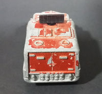 1973 Lesney Matchbox Rolamatics No. 16 Badger Orange Radar Truck Diecast Toy Car - Treasure Valley Antiques & Collectibles