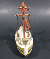 Vintage Highly Detailed Alaska Souvenir Small Fishing Boat Ship - Treasure Valley Antiques & Collectibles