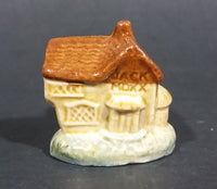 "Vintage Red Rose Tea Whimsies ""The House That Jack Built"" Wade Figurine - Treasure Valley Antiques & Collectibles"