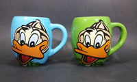 Vintage Ride The Ducks Land & Lake Tour Branson Missouri Blue & Green Ceramic Mugs - Treasure Valley Antiques & Collectibles