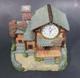 Canada Quartz Decorative Cottage Cabin House Mantle Desk Clock - Treasure Valley Antiques & Collectibles