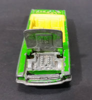 2000 Hot Wheels '65 Mustang Convertible Classic Rock Lime Green Die Cast Toy Car Vehicle - Treasure Valley Antiques & Collectibles