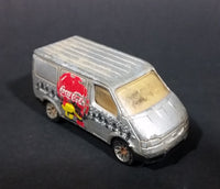 1995 Matchbox Coca-Cola Coke Soda Pop Silver Ford Transit Van Diecast Toy Car 1:63 Scale - Treasure Valley Antiques & Collectibles